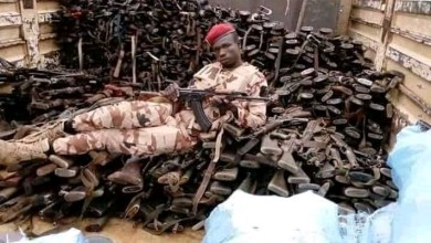Photo of Chadian Troops Led By President Idris Debby Seize Boko Haram Warehouse (Photos)