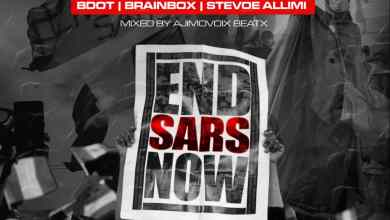 Photo of B Dot Ft. Brainbox & Stevoe Allimi – End Sars Now