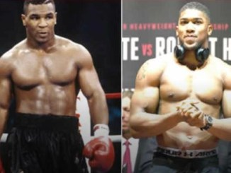 Anthony Joshua not interested in fighting Mike Tyson