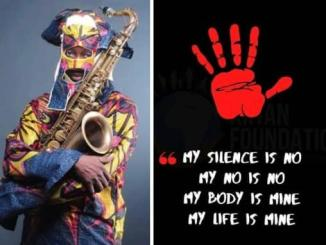 Lagbaja reacts to the rise in cases of rape in the country