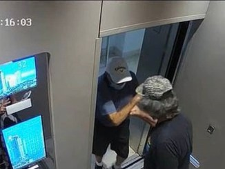 Man pushes 86 year old out of lift, arrested