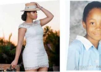 BBA star, Pokello Nare, denies bleaching rumours, shares childhood photos
