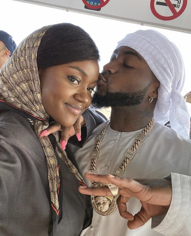 Chef Chi still with Davido? Spotted with her engagement ring