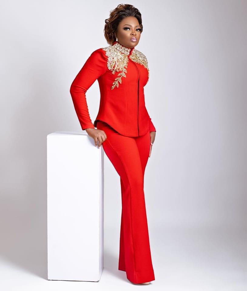 Nollywood actress, Funke Akindele Bello shares new photos