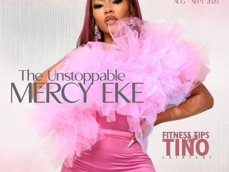 Mercy Eke is on the cover of latest issue of Latizia magazine