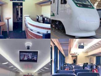 Check out the ultra-modern Lagos-Ibadan Railway