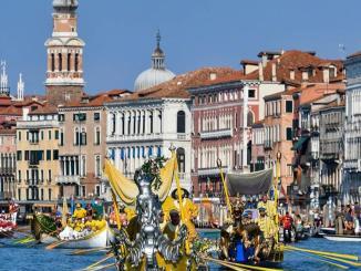 Despite COVID-19, Venetian tradition holds in Venice