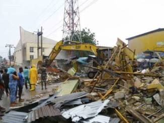 lagos state destroyed shops