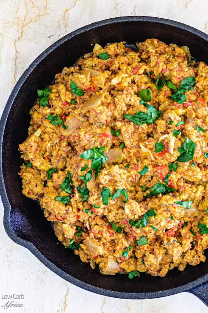 This egg stew is a must on your Nigerian keto diet