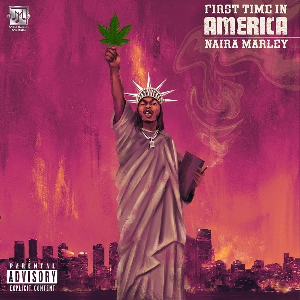 Naira Marley First Time In America