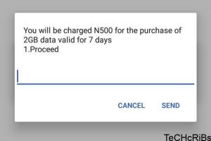 How to get 2gb for N500 on MTN