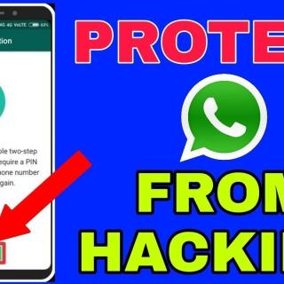 How to protect whatsapp account from hackers