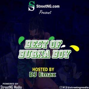 DJ Emax – Best Of Burna Boy 2019