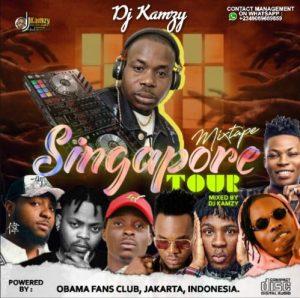 [December Mix] DJ Kamzy – Singapore Tour Mixtape