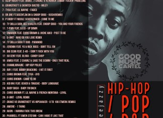 Dj Tee Jazzy - Hip-hop X Pop X R&B Mixtape