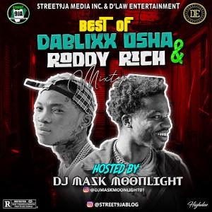 Dj Mask Moonlight - Best of Dablixx OSHA & Roddy Rich Mix 2020