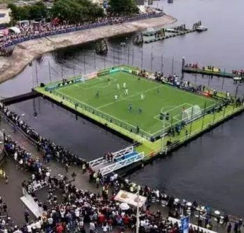 News: The First African Country To Build A Stadium On Water (Photos)