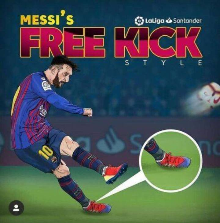 Learn To Play Freekicks Like Lionel Messi