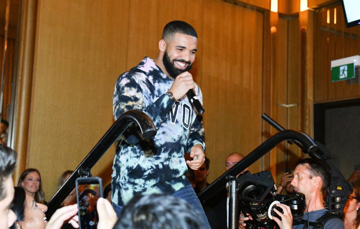 Drake has helped a Toronoto rapper pay off his debt and double his savings