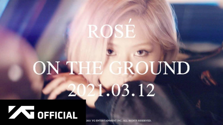 DOWNLOAD MP3: ROSÉ (BLACKPINK) – On The Ground (Free Mp3) AUDIO 320kbps