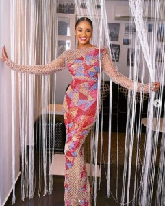 Singer, Banky W's wife, Adesua Etomi looks good in this fantastic dress she is showcasing online. Women have been making inquiries about the lovely dress since she posted the pictures.