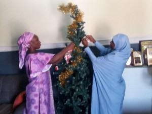 In an effort towards promoting peaceful co-existence, religious tolerance, love and better understanding among different faith-based organization in Nigeria, a Muslim woman,