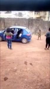 Nigeria Lady Beating Her Underage Househelp Goes Viral