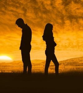 Relationship breakup, often referred to as breakup, is the termination of an intimate relationship by any means other than death. Breakup happens as a result