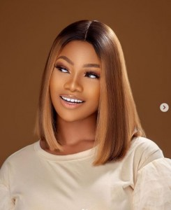 "Nigerian reality star, Anita Natacha Akide aka Tacha yesterday celebrated her birthday in style.  The former BBNaija star who turned 24 on Monday shared beautiful photos to celebrate the special day. She took to her social media handle and wrote:  ""24 ON THE THRONE"""