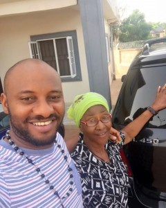 Yul Edochie Declares Himself Mummy's Boy – Shares Picture Nollywood actor, Yul Edochie says he is a mummy's boy. He visited his family house in Anambra.