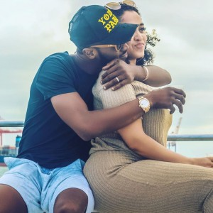 Lineo Didi Kilgrow, wife of musician, Dbanj has taken to her Instagram account to share a picture of their baby's hand for the first time since he was born. Recall that the couple lost their first son, Daniel Oyebanjo III last year after he drowned in a