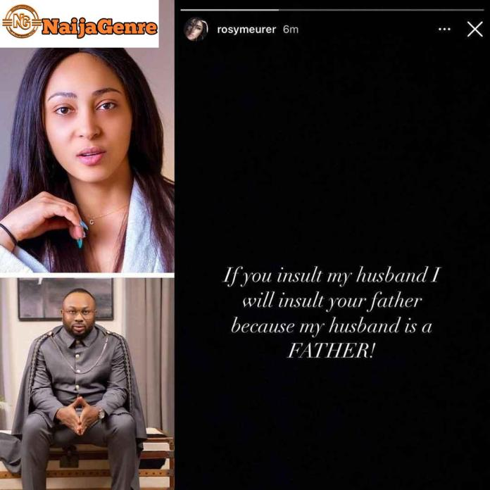 I Will Insult Your Father, If You Insult My Husband -