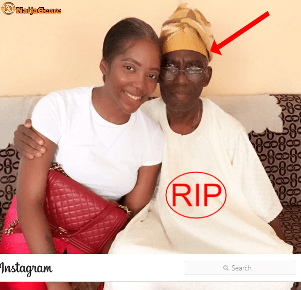 Tiwa Savage Announces Her Father'S Death