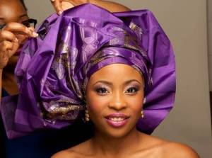 How to Tie Bridal Gele for Nigerian Wedding (Video Tutorial)