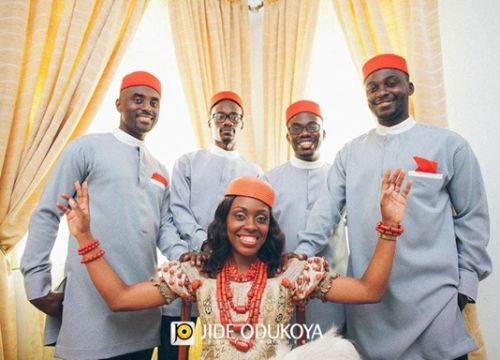 Pictures: igbo men aso-ebi styles -ibo traditional grooms wear