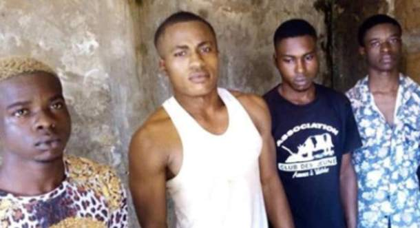 Four men arrested for gang-raping, black-mailing a girl in Anambra