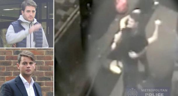 Students caught on camera celebrating after raping woman in nightclub jailed