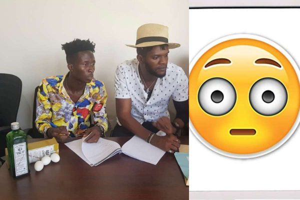 Ghanaian record label signs new artist with Schnapps and eggs lailasnews
