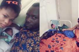 See what happened after a man begged Nigerians to help raise his wife and newborn hospital bills