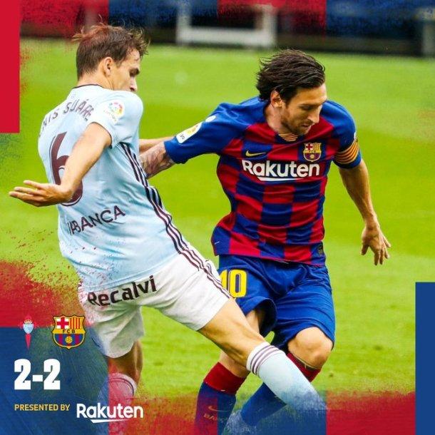 Celta Vigo vs Barcelona 2-2 Download