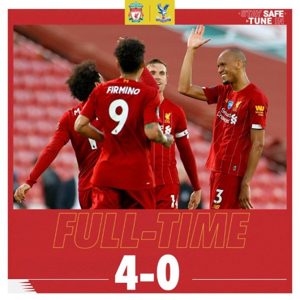 Liverpool vs Crystal Palace 4-0 Download