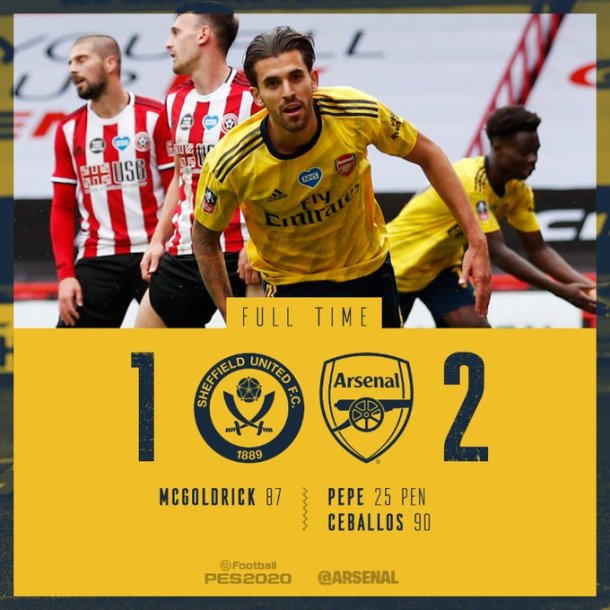 Sheffield United vs Arsenal 1-2 Download