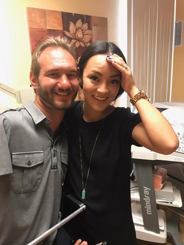 Nick Vujicic and Wife Kanae