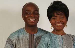 Bishop Oyedepo and wife