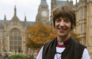 First female diocesan bishop, Rachel Treweek