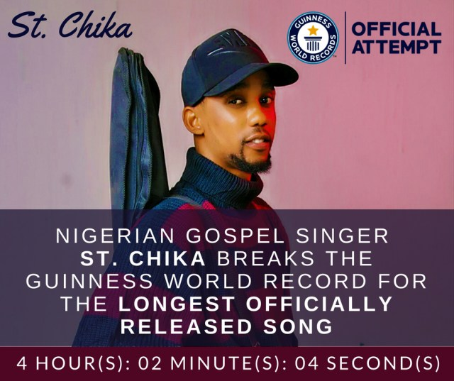 St. Chika - Guinness World Record