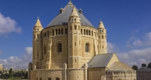 Dormition Abbey in Jerusalem, Israel
