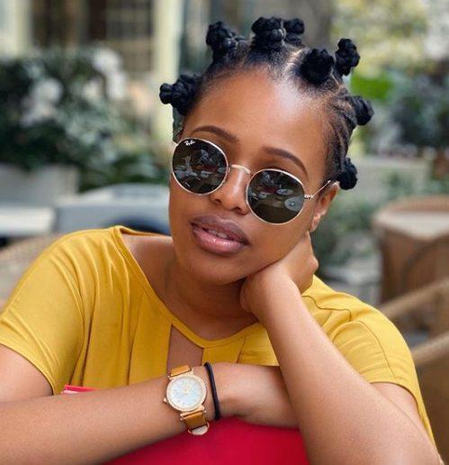 IN SOUTH AFRICA: Natasha Thahane hits 2.8 million followers ⋆ Naijahotstars