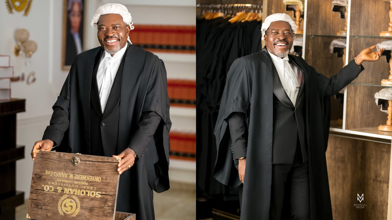 Nollywood Actor, Kanayo O Kanayo Finally Called To Bar As A Professional  Lawyer ⋆ Naijahotstars