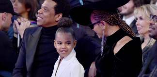 Blue Ivy Carter Beyaonce and Jay z